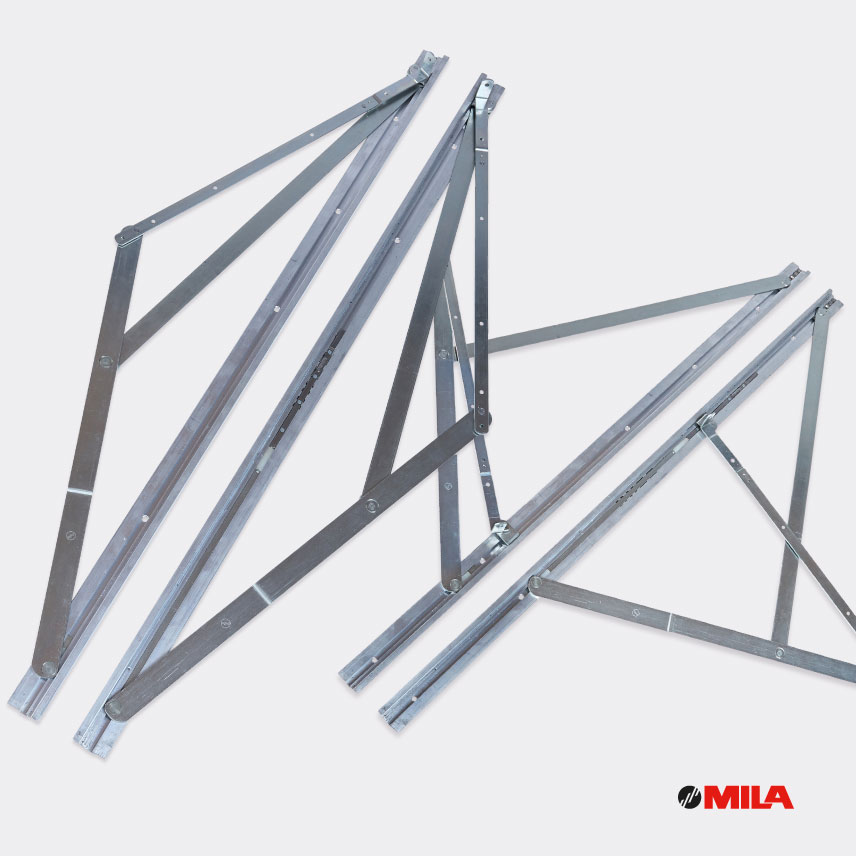 MILA M-7 Topswing hardware for Fully Reversible Windows